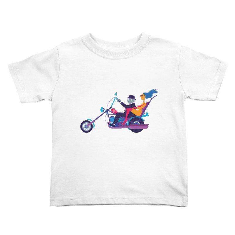 Mid-Life Crisis No.1 Kids Toddler T-Shirt by Studio Drawgood