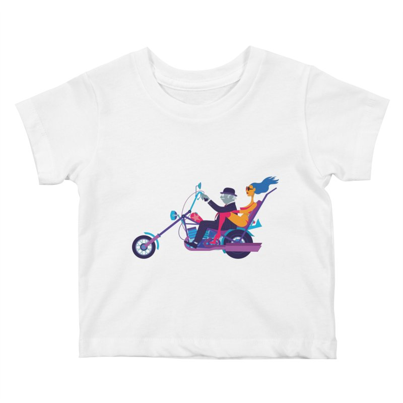 Mid-Life Crisis No.1 Kids Baby T-Shirt by drawgood's Shop