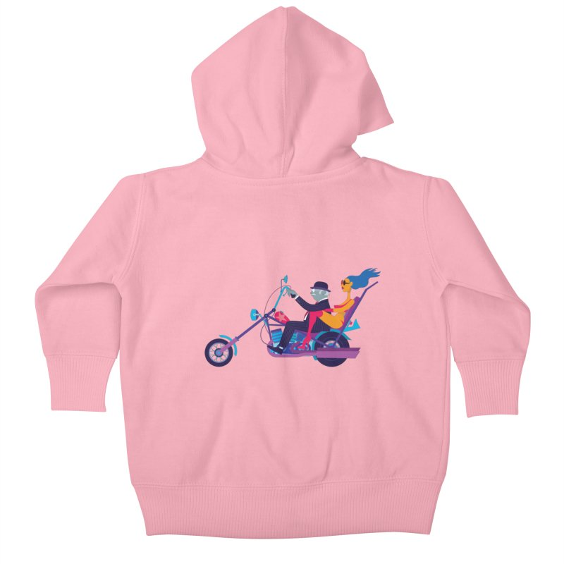 Mid-Life Crisis No.1 Kids Baby Zip-Up Hoody by drawgood's Shop