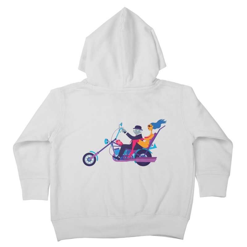 Mid-Life Crisis No.1 Kids Toddler Zip-Up Hoody by drawgood's Shop