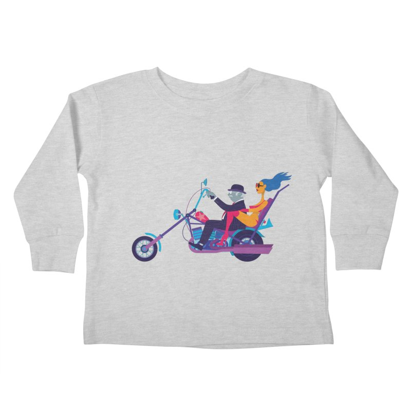 Mid-Life Crisis No.1 Kids Toddler Longsleeve T-Shirt by drawgood's Shop