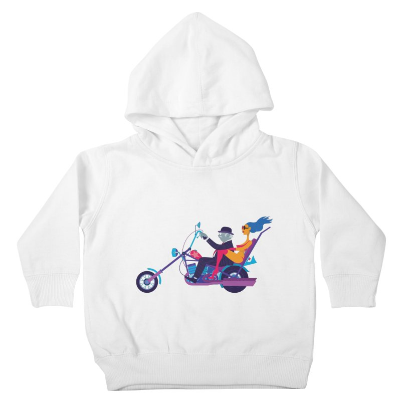 Mid-Life Crisis No.1 Kids Toddler Pullover Hoody by drawgood's Shop