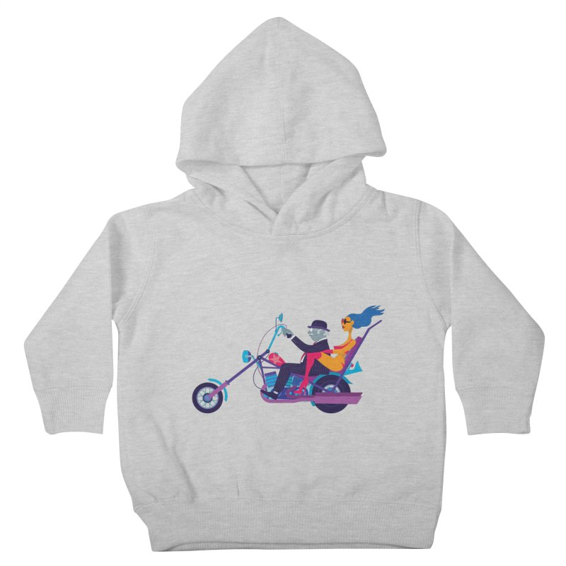 Mid-Life Crisis No.1 Kids Toddler Pullover Hoody by Studio Drawgood
