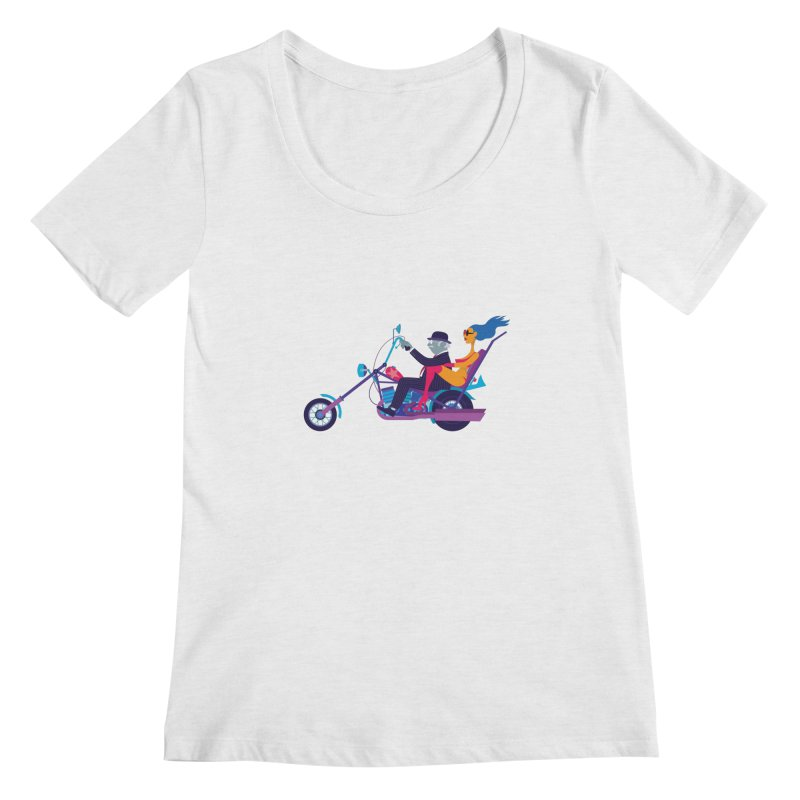 Mid-Life Crisis No.1 Women's Scoopneck by drawgood's Shop