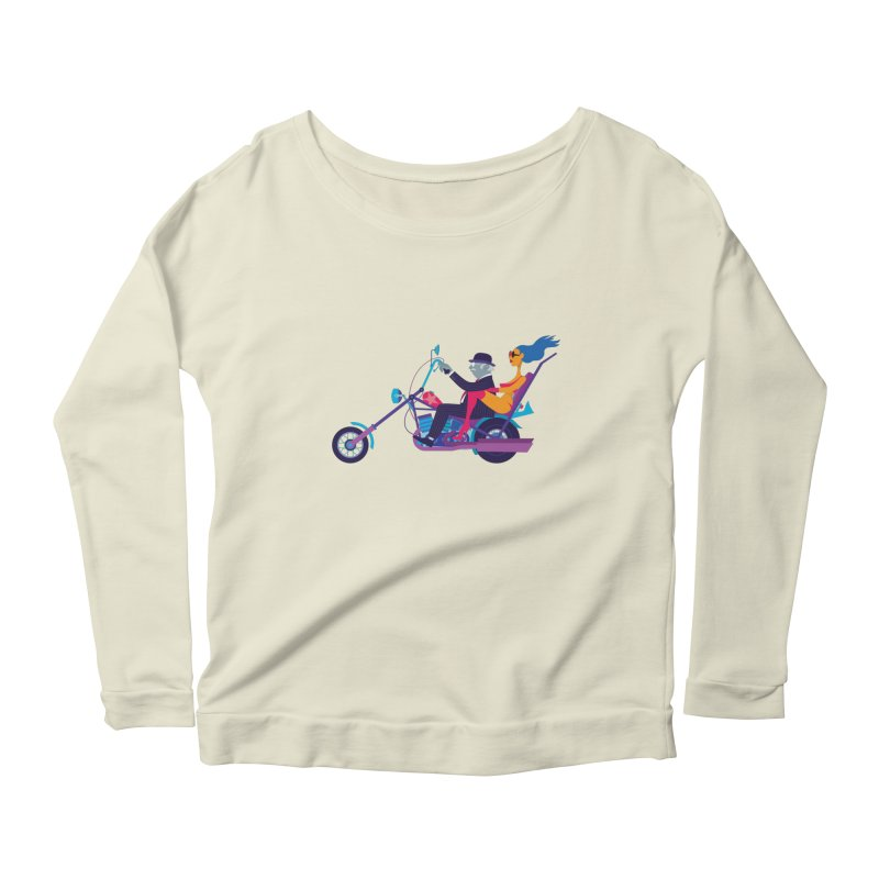 Mid-Life Crisis No.1 Women's Longsleeve Scoopneck  by drawgood's Shop