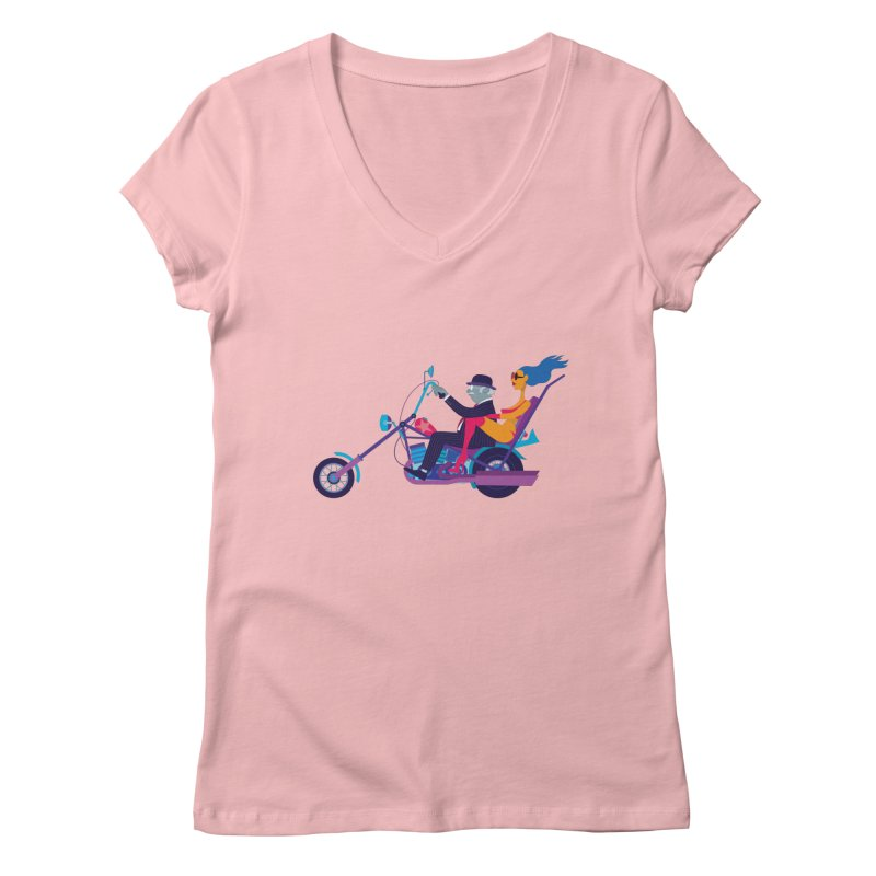 Mid-Life Crisis No.1 Women's V-Neck by drawgood's Shop
