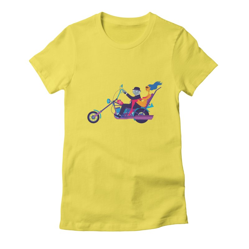 Mid-Life Crisis No.1 Women's Fitted T-Shirt by drawgood's Shop