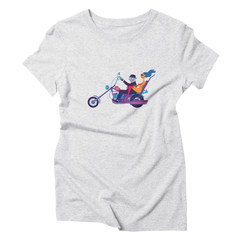Mid-Life Crisis No.1 Women's Triblend T-Shirt by drawgood's Shop