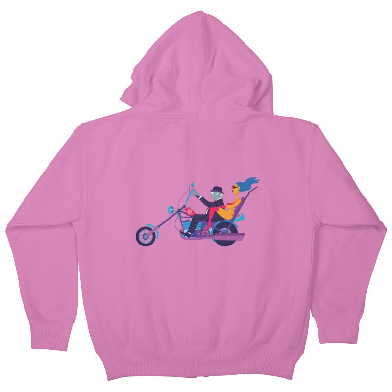 Mid-Life Crisis No.1 Kids Zip-Up Hoody by drawgood's Shop