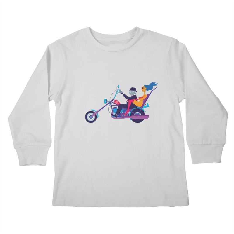 Mid-Life Crisis No.1 Kids Longsleeve T-Shirt by drawgood's Shop