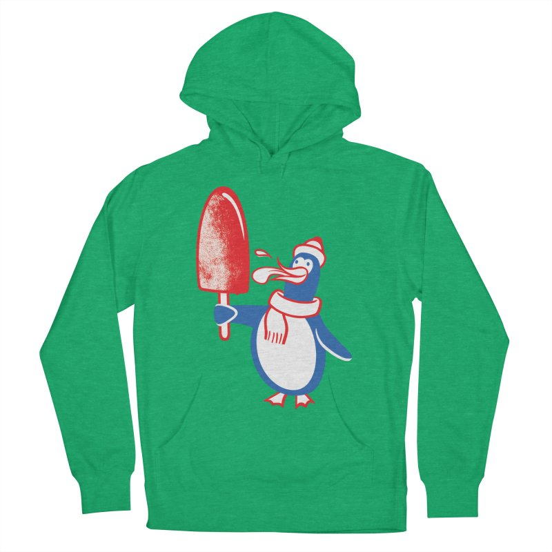 Popsicle Penguin Men's Pullover Hoody by drawgood's Shop