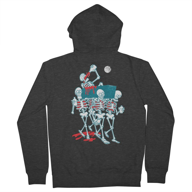 Funeral Of The Already Dead Men's Zip-Up Hoody by drawgood's Shop