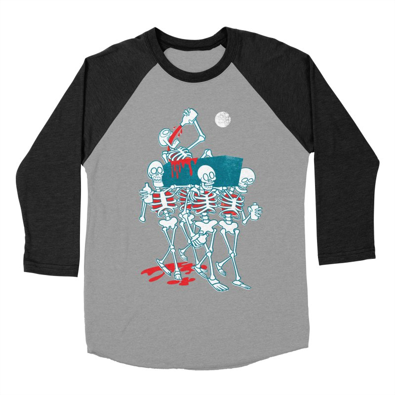 Funeral Of The Already Dead Women's Baseball Triblend T-Shirt by drawgood's Shop