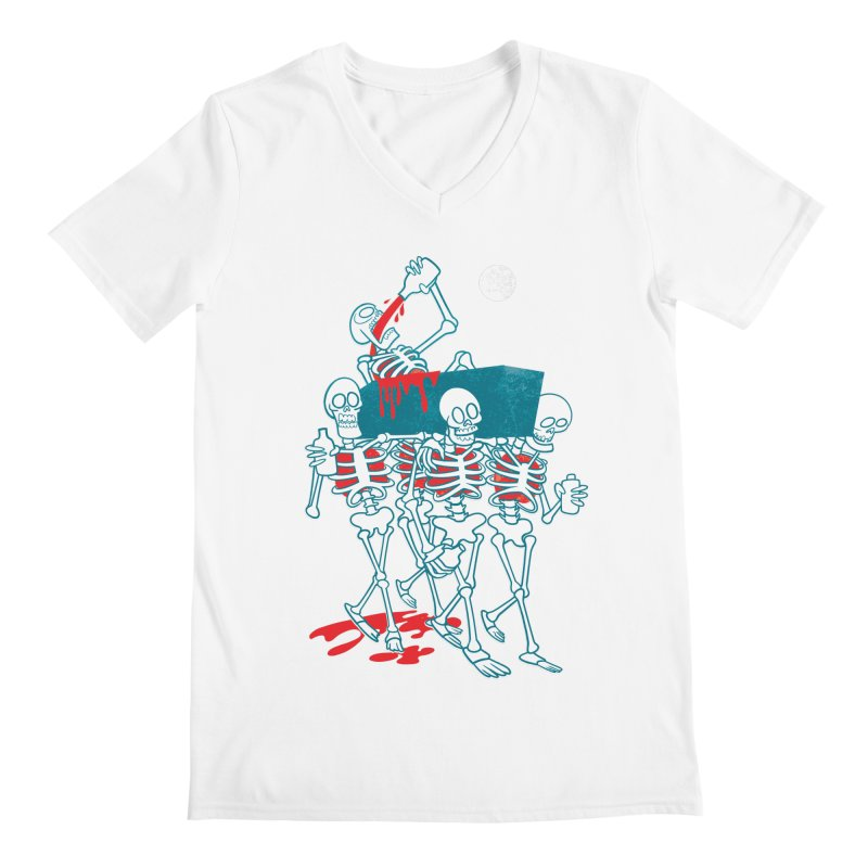 Funeral Of The Already Dead Men's V-Neck by drawgood's Shop