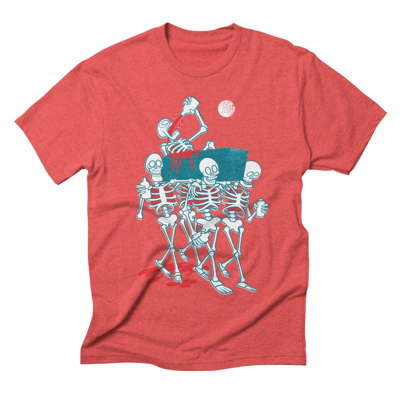 Funeral Of The Already Dead Men's Triblend T-shirt by drawgood's Shop