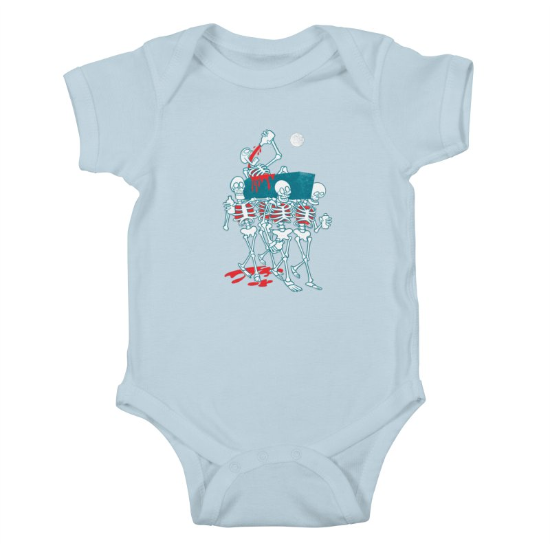 Funeral Of The Already Dead Kids Baby Bodysuit by drawgood's Shop