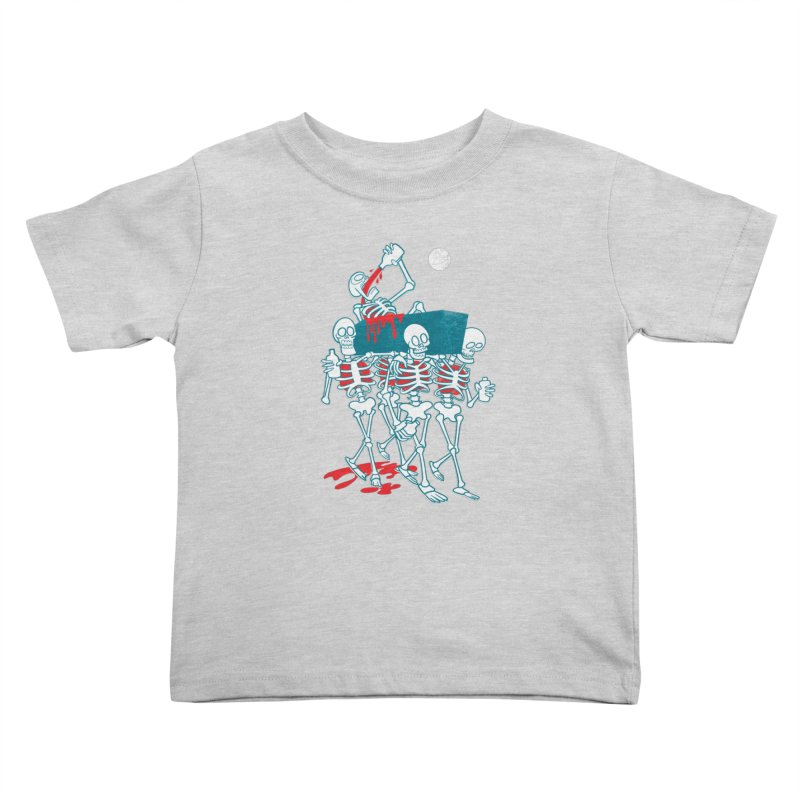 Funeral Of The Already Dead Kids Toddler T-Shirt by drawgood's Shop