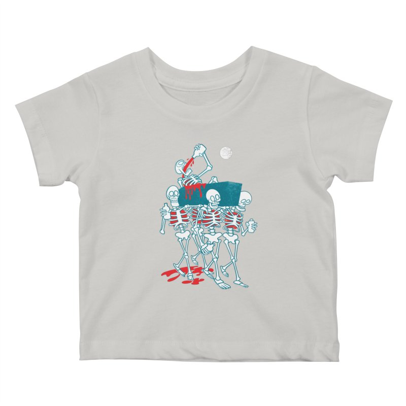 Funeral Of The Already Dead Kids Baby T-Shirt by drawgood's Shop