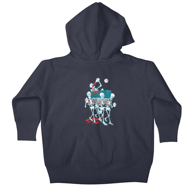 Funeral Of The Already Dead Kids Baby Zip-Up Hoody by drawgood's Shop