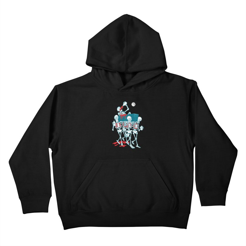 Funeral Of The Already Dead Kids Pullover Hoody by drawgood's Shop
