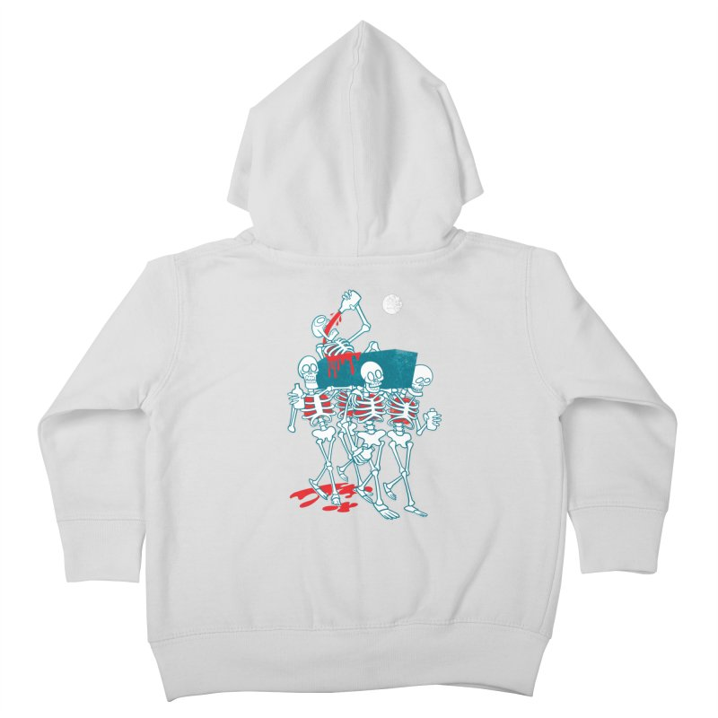 Funeral Of The Already Dead Kids Toddler Zip-Up Hoody by drawgood's Shop
