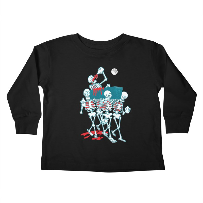 Funeral Of The Already Dead Kids Toddler Longsleeve T-Shirt by drawgood's Shop