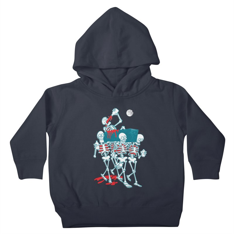 Funeral Of The Already Dead Kids Toddler Pullover Hoody by drawgood's Shop