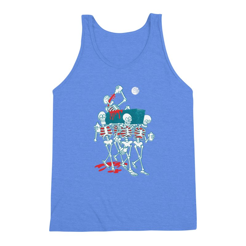 Funeral Of The Already Dead Men's Triblend Tank by drawgood's Shop