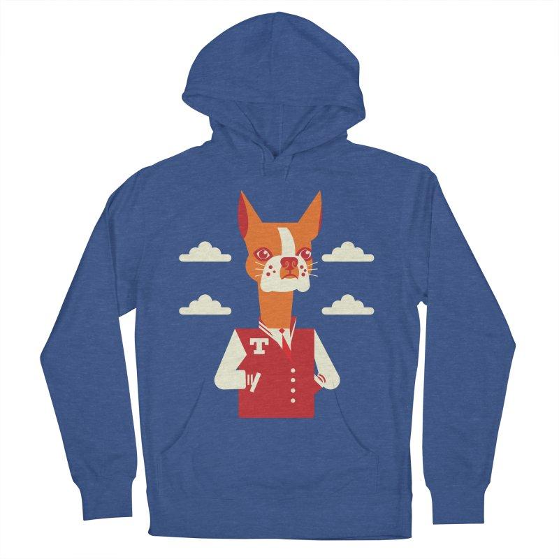 Boston Bull Terrier Men's Pullover Hoody by drawgood's Shop
