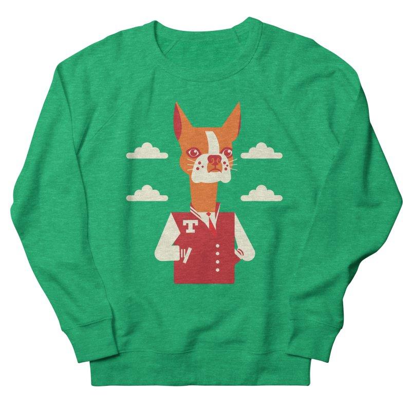 Boston Bull Terrier Women's Sweatshirt by drawgood's Shop