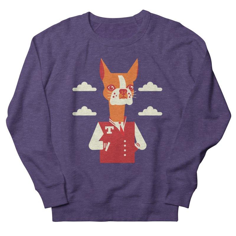 Boston Bull Terrier Men's Sweatshirt by Studio Drawgood