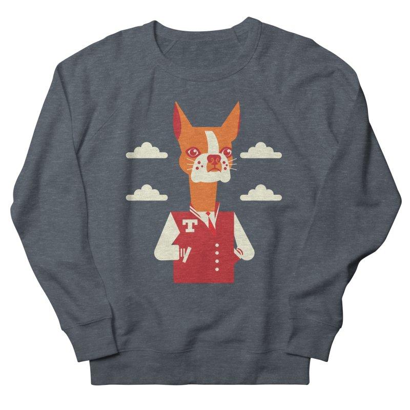 Boston Bull Terrier Men's Sweatshirt by drawgood's Shop