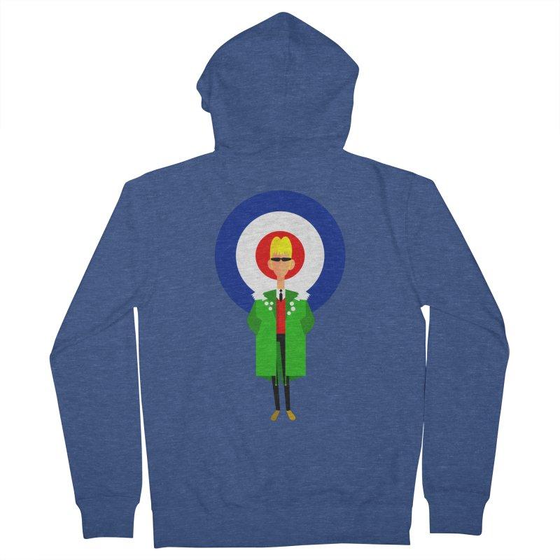 I Am The Mod Women's Zip-Up Hoody by drawgood's Shop