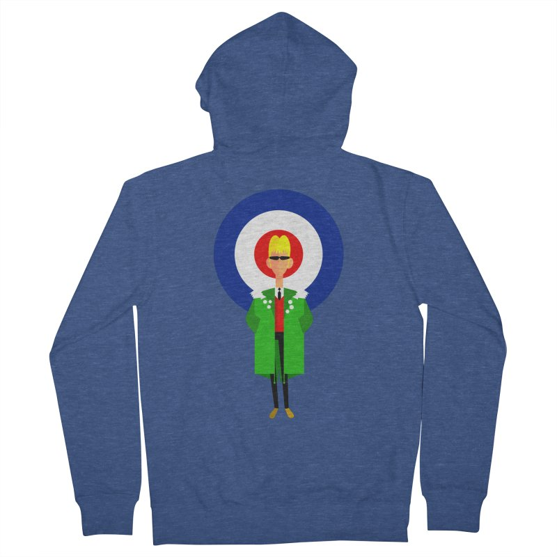 I Am The Mod Men's Zip-Up Hoody by drawgood's Shop