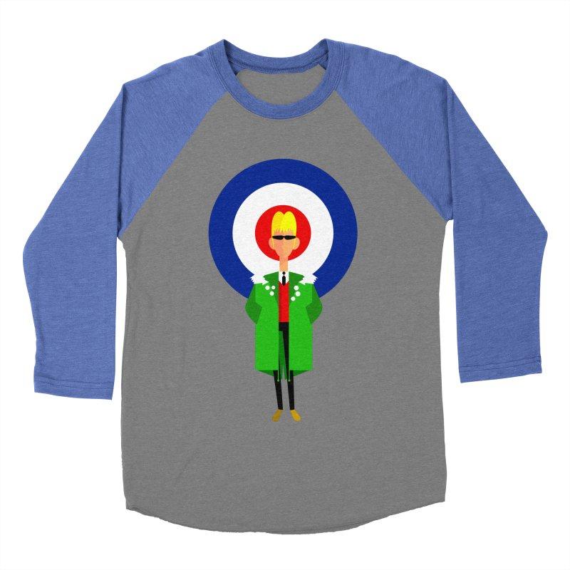 I Am The Mod Women's Baseball Triblend T-Shirt by Studio Drawgood