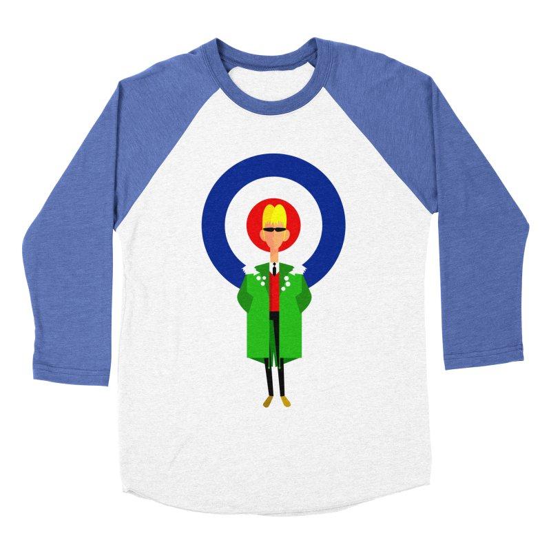 I Am The Mod Men's Baseball Triblend T-Shirt by Studio Drawgood