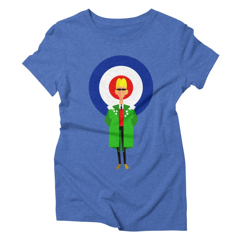I Am The Mod Women's Triblend T-Shirt by drawgood's Shop