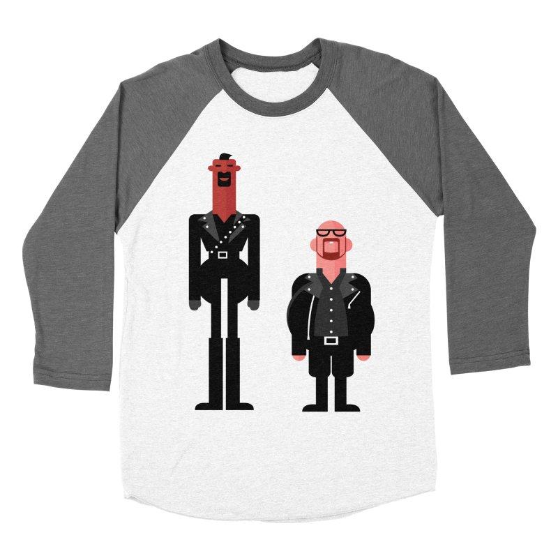 Colin & Geoff Men's Baseball Triblend T-Shirt by Studio Drawgood