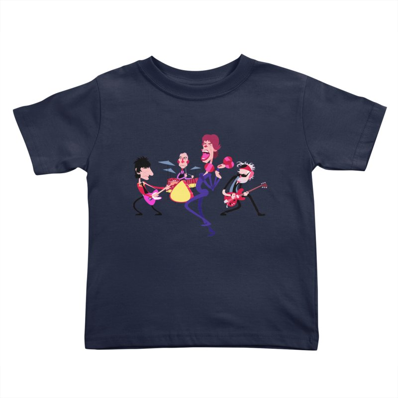 Stoned Again Kids Toddler T-Shirt by Studio Drawgood