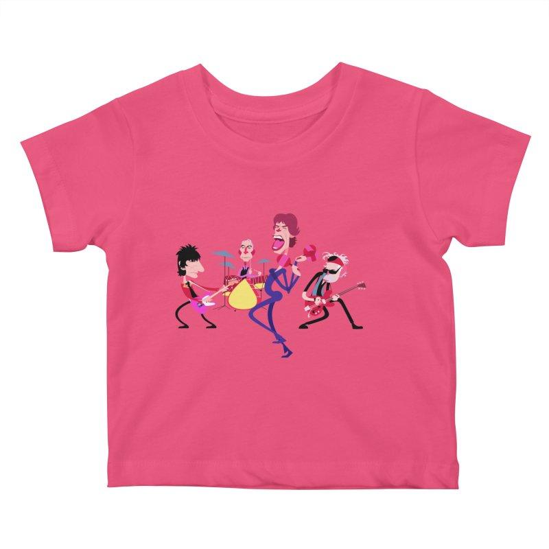 Stoned Again Kids Baby T-Shirt by Studio Drawgood
