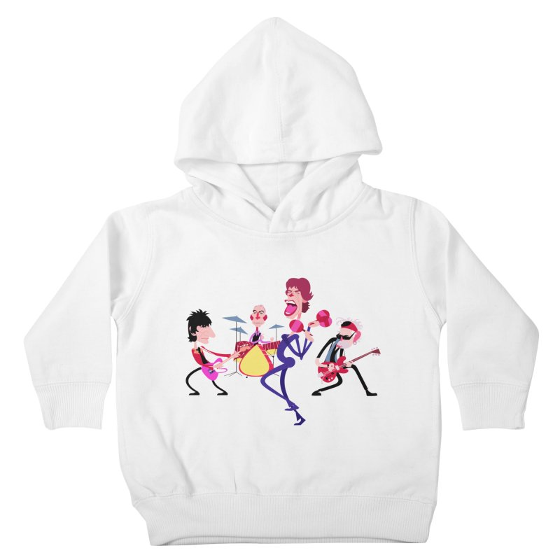 Stoned Again Kids Toddler Pullover Hoody by Studio Drawgood