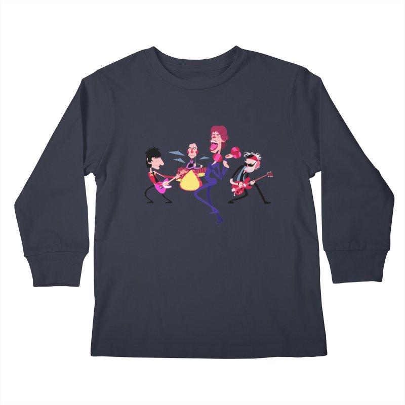 Stoned Again Kids Longsleeve T-Shirt by Studio Drawgood