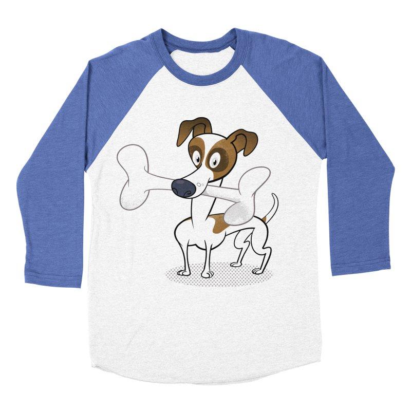 Mr Jack Russell Women's Baseball Triblend T-Shirt by Studio Drawgood