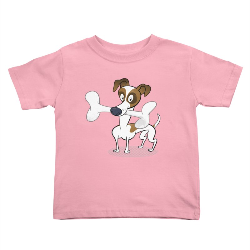 Mr Jack Russell Kids Toddler T-Shirt by Studio Drawgood
