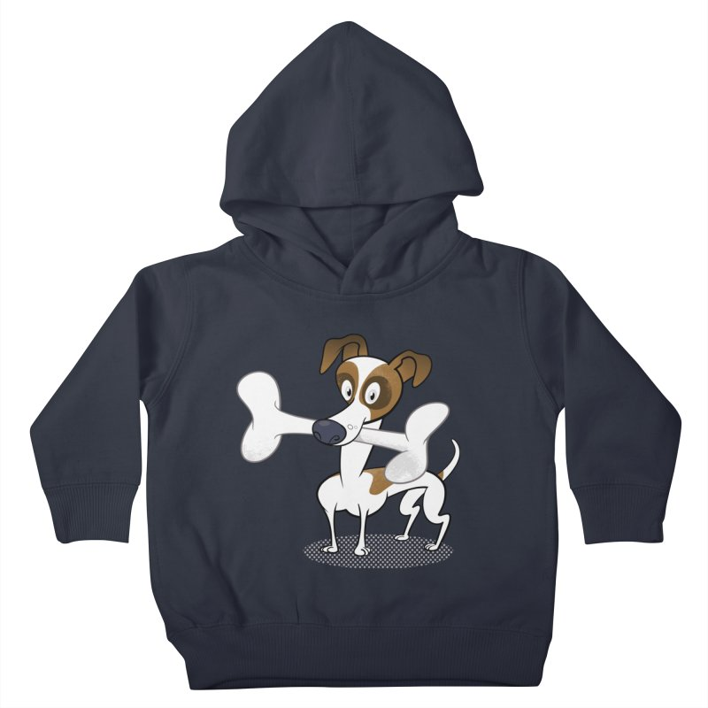 Mr Jack Russell Kids Toddler Pullover Hoody by Studio Drawgood