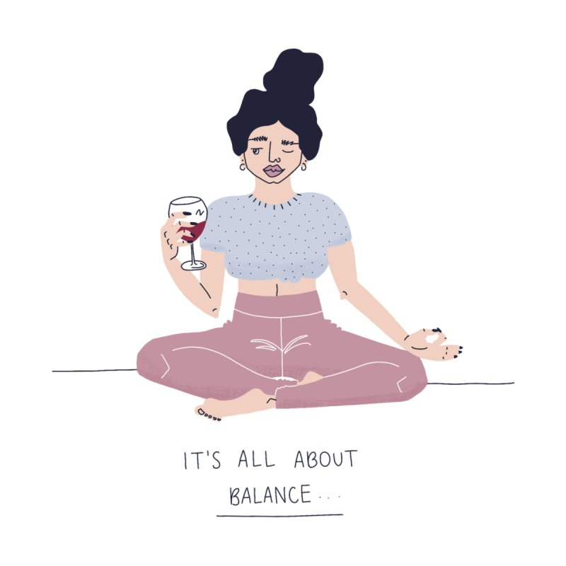 it's all about balance... by Drawing Vicariously