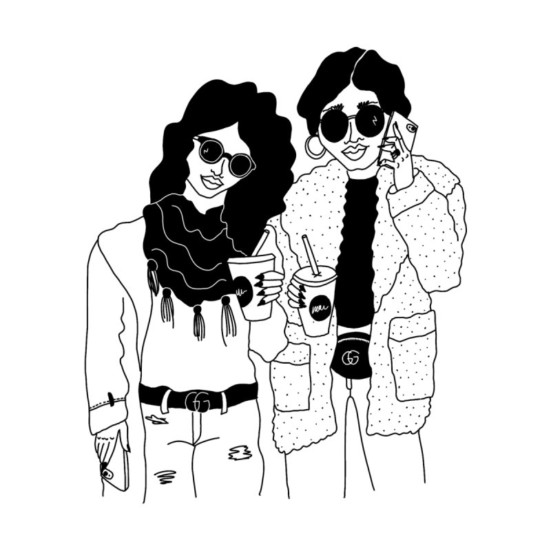 cool girls by Drawing Vicariously