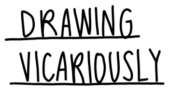 Drawing Vicariously Logo
