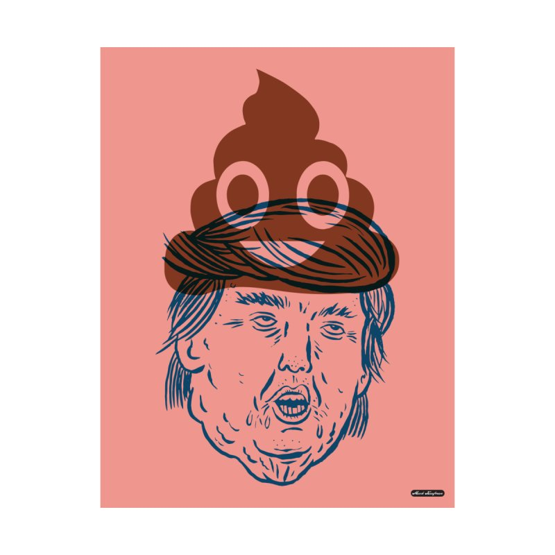 Trumpmoji Home Rug by DRAWMARK