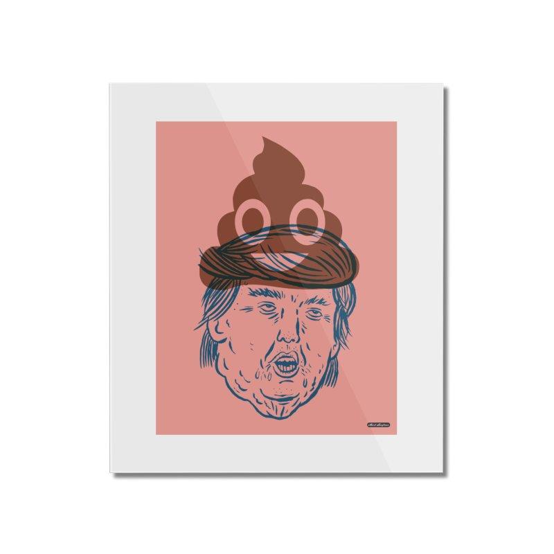 Trumpmoji Home Mounted Acrylic Print by DRAWMARK